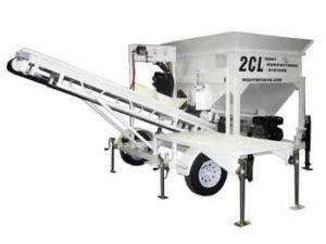 Portable Concrete Batching Plant 2CL-5