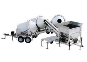 Portable Concrete Batching Plant 2CL-5 3 Position & Portable Concrete Mixers 2DH-2