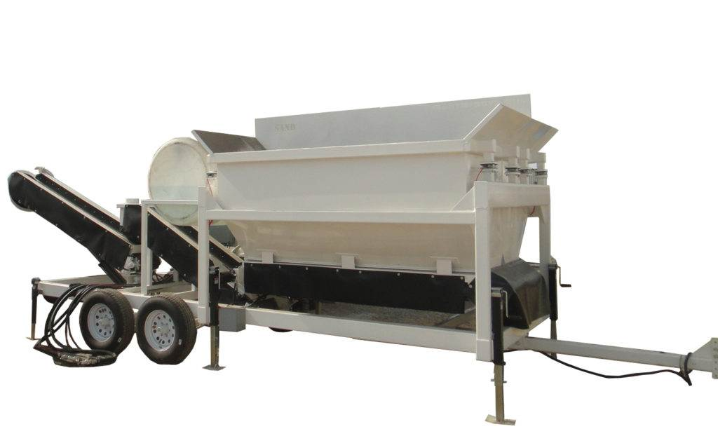Portable Concrete Batching Plant 2CL-8-2 Swivel