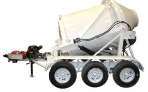 3 Yard Portable Concrete Mixer 2DH-3