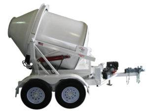 Portable Concrete Mixer 2DH-S Swivel Side