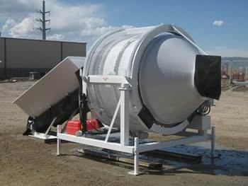 Portable Concrete Mixer Batch Plant EZ 1-1 Front